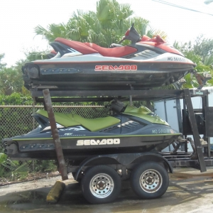 Store your Boat and Jet Skis Picture